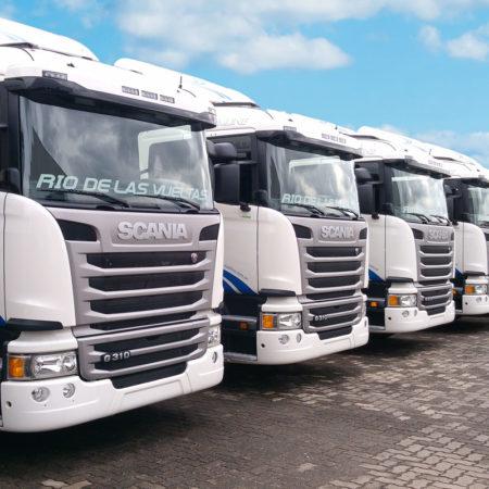 Flota Camiones Scania Río de las Vueltas